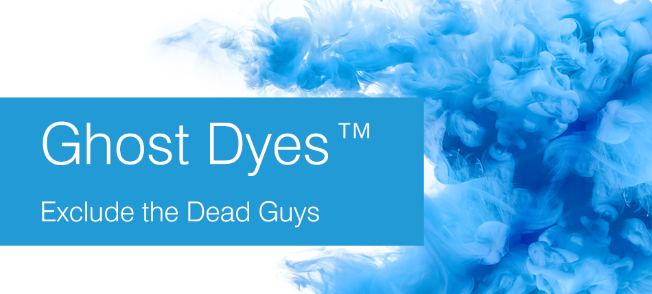 Ghost Dyes™ Exclude the Dead Guys